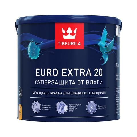 Купить Tikkurila Euro Extra 20 в Краснодаре