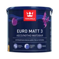 Tikkurila Euro Matt 3 — (Тиккурила Евро Матт 3)