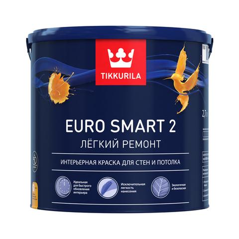 Купить Tikkurila Euro Smart 2 в Краснодаре