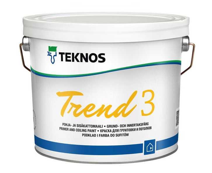 Купить Teknos TREND 3 в Краснодаре