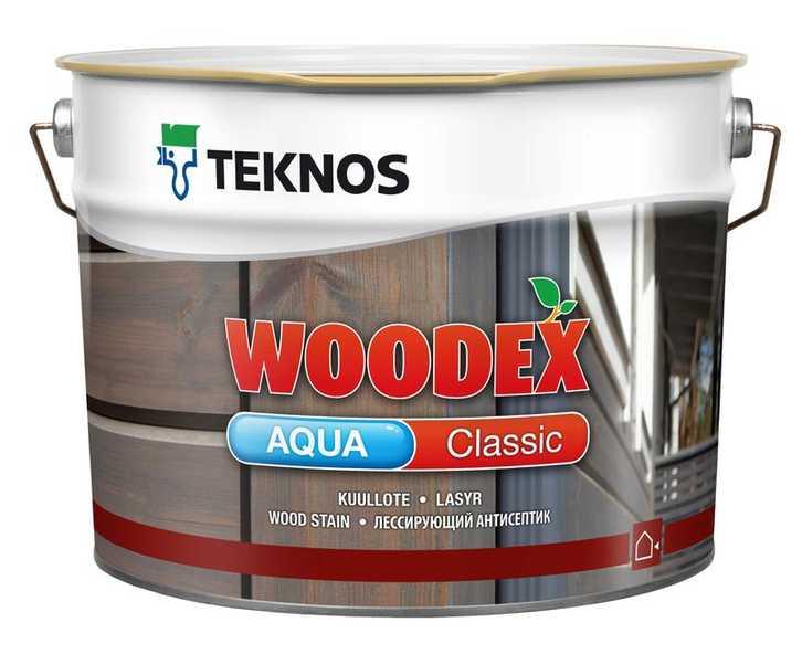 Купить Teknos WOODEX AQUA CLASSIC в Краснодаре