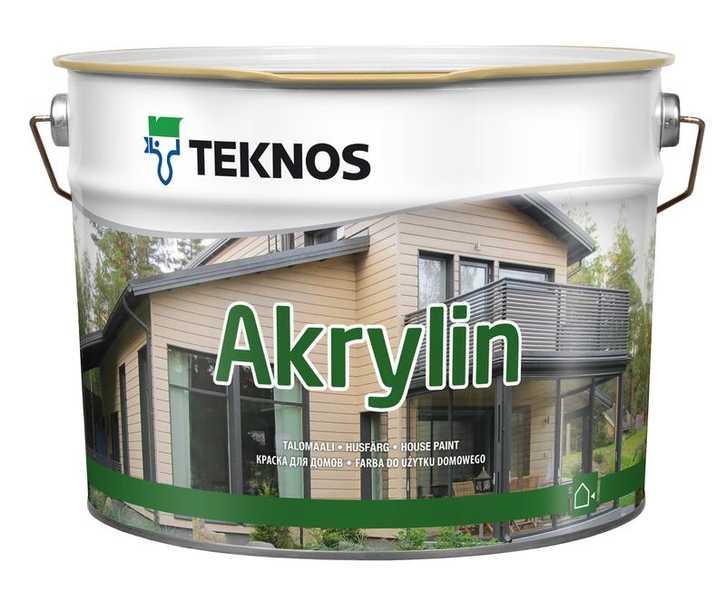 Купить Teknos AKRYLIN в Краснодаре