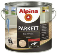 Alpina Parkett — лак для паркета
