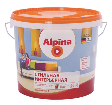 Купить Alpina Стильная интерьерная в Краснодаре