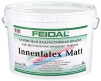 FEIDAL INNENLATEX MATT — латексная краска для стен