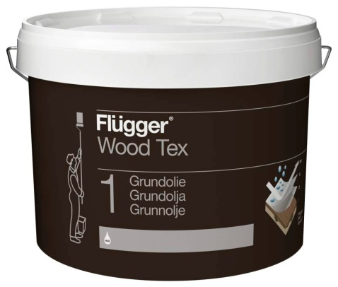 Купить Flügger Wood Tex Grundolie (Priming Oil) в Краснодаре