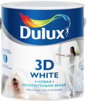 Dulux 3D White — Дулюкс 3Д Вайт