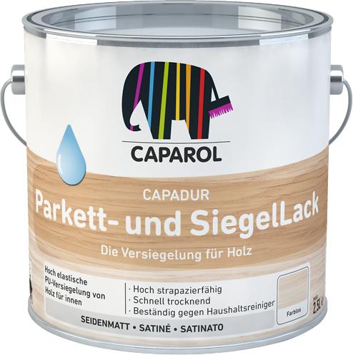 Купить лак Caparol Capadur Parkett- und SiegelLack в Краснодаре